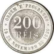 200 Réis – reverse