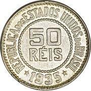 50 Réis – reverse