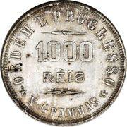 1000 Réis – reverse