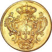 6400 Reis - Maria I & Pedro III – reverse