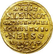 2 Ducat - Karl (Shooting Festival in Neisse the Duchy in Silesia) – reverse