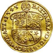 1 Ducat - Balthasar von Promnitz – obverse