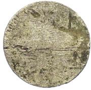 ½ Kreuzer - Friedrich von Hessen-Darmstadt – reverse