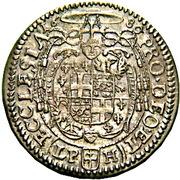6 Kreuzer - Friedrich von Hessen-Darmstadt – reverse