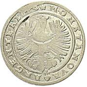 6 Kreuzer - Franz Ludwig – reverse