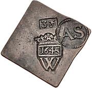 3 Groschen (Siege coinage) – obverse