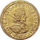 1 Ducat - Franz Ludwig von der Pfalz und zu Neuburg – obverse