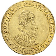 2 Ducat - Matthias II (Breslau) – obverse