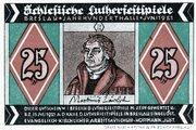 25 Pfennig (Schlesische Lutherfestspiele) – obverse