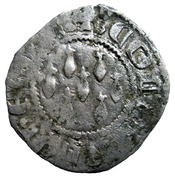Demi-Gros - Jean IV – obverse
