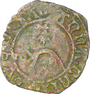 Double Denier - Anne – obverse