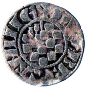 1 Denier au Lambel - Jean II / Arthur II – obverse