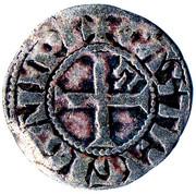 1 Denier au Lambel - Jean II / Arthur II – reverse
