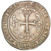 1 Gros - Jean IV – reverse