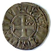 Denier Guingamp - Jean II, Arthur II et Jean III -  reverse