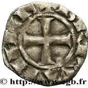 Denier - Charles de Blois – reverse