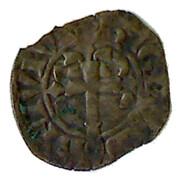 Double denier - Jean III (mouchetures coupant la légende) – reverse
