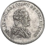 ½ Konventionsthaler - Karl August – obverse