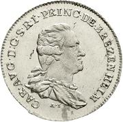 10 Kreuzer - Karl August (Konventionskreuzer) – obverse