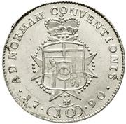10 Kreuzer - Karl August (Konventionskreuzer) – reverse