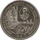 2 Pounds - Elizabeth II (Scott's Terra Nova Expedition) – reverse