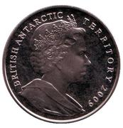 2 Pounds - Elizabeth II (Antarctic Treaty) – obverse