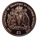 2 Pounds - Elizabeth II (Letters Patent of British Antarctica) – reverse