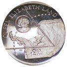 2 Pounds - Elizabeth II (Queen Elizabeth Land) – reverse