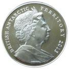2 Pounds - Elizabeth II (Queen Elizabeth Land; Silver Proof Issue) – obverse