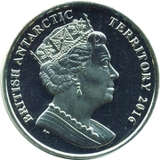 2 Pounds - Elizabeth II (The Emperor Penguin) – obverse