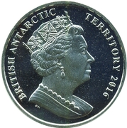 2 Pounds - Elizabeth II (The sperm whale) – obverse