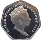 50 Pence - Elizabeth II  (Boaty McBoatface) – obverse