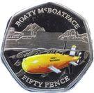 50 Pence - Elizabeth II  (Boaty McBoatface) – reverse