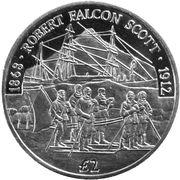 2 Pounds - Elizabeth II (Robert Falcon Scott) – reverse