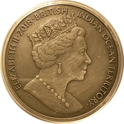 4 Pounds - Elizabeth II (Centaur) – obverse