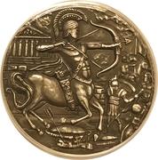 4 Pounds - Elizabeth II (Centaur) – reverse