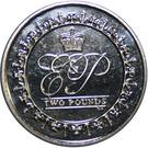 2 Pounds - Elizabeth II (Lifetime of Service) – reverse
