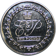 2 Pounds - Elizabeth II (Lifetime of Service) – reverse