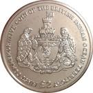 2 Pounds - Elizabeth II (First Commemorative) – reverse
