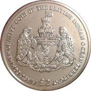2 Pounds - Elizabeth II (First Commemorative) – reverse