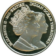 2 Pounds - Elizabeth II (Princess Margaret) – obverse