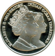 2 Pounds - Elizabeth II (Diamond Jubilee; Silver Proof Issue) – obverse
