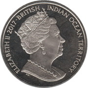 2 Pounds - Elizabeth II (Green Turtle) – obverse