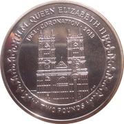 2 Pounds - Elizabeth II (A lifetime of service) – reverse