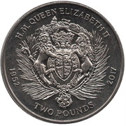 2 Pounds - Elizabeth II (Coat of arms) – reverse