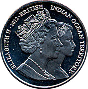 2 Pounds - Elizabeth II (Royal Wedding) – obverse