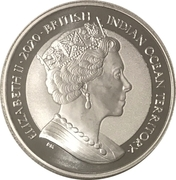 1 Royal - Elizabeth II (Sea Turtle) – obverse