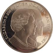 2 Pounds - Elizabeth II (Elizabeth II and Prince Philip) – obverse