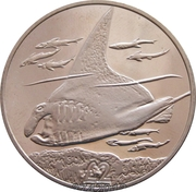 2 Pounds - Elizabeth II (The Manta Ray) – reverse