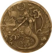 4 Pounds - Elizabeth II (Siren) – reverse